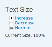 Text Size